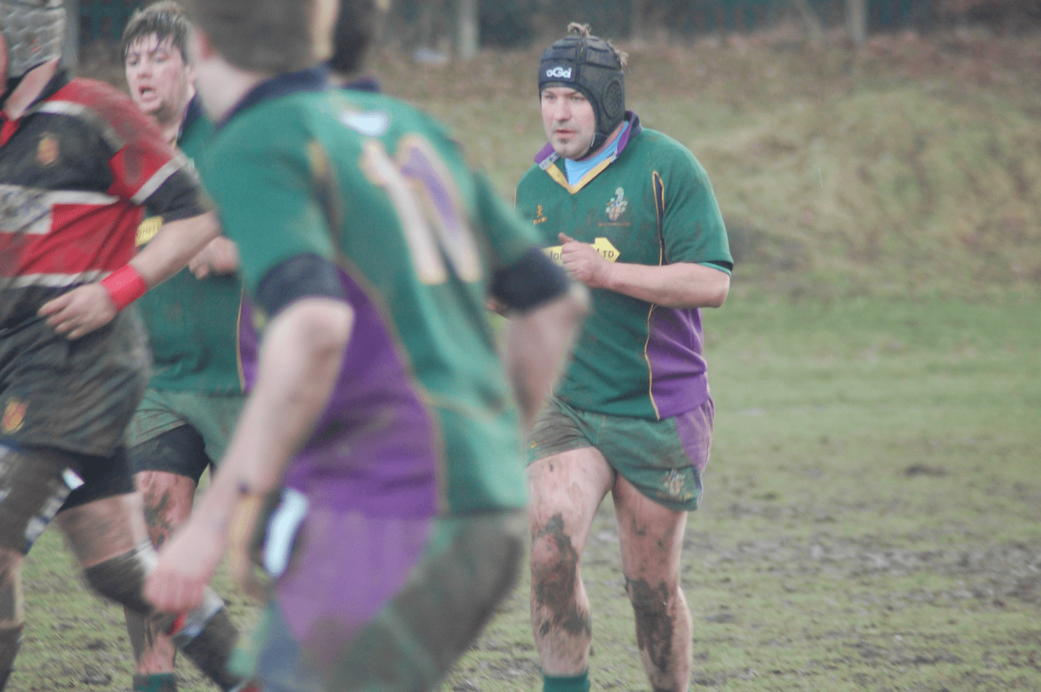 Mark has played grassroots rugby since a young lad, first as blind side flanker and then 'graduating' to the distinguished position of tight head prop in his latter years.